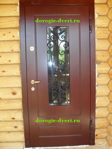 входные уличные остекленные металлические двери цены