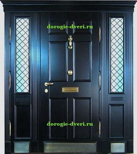 парадные двери входные двухстворчатые металлические