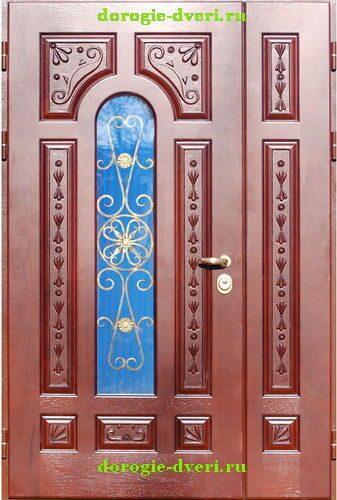 металлические двери с ковкой в егорьевске