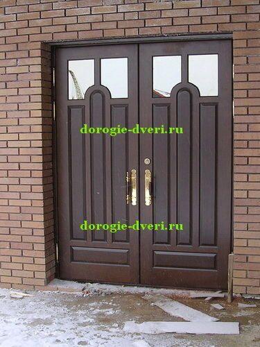 уличная железная дверь двойные