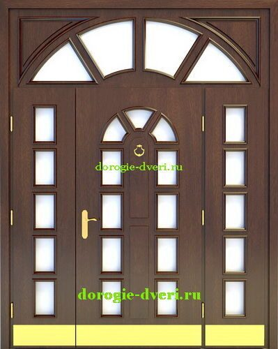 стеклопакет входной двери подъезда