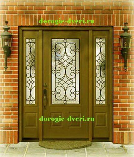стандартный проем входной стальной двери