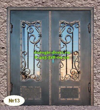 входные двери художественной ковки