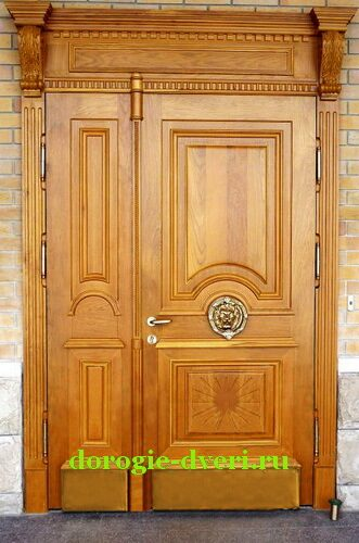 купить входную дверь из дуба
