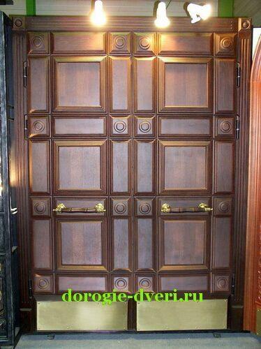 двухстворчатые входные двери элитные